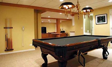 Home Improvement Basement Decorating Ideas
